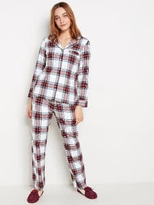 Checked pyjama set | Lindex Europe